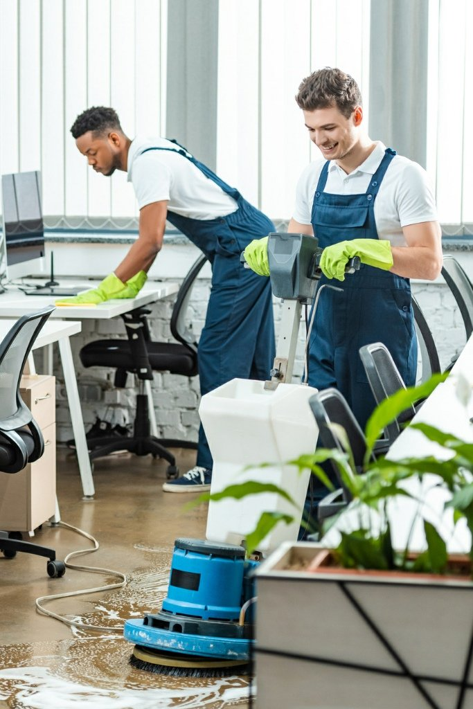 professional cleaners office space